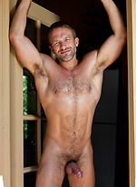 Dirk Caber shows cock