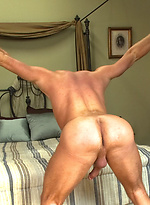 Porn Superstar Christopher Daniels is bound, violated and edged.