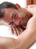 Muscle hunk Cameron Kincade shows his butt and cock