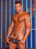 Angelo Marconi shows his hot muscle body