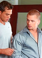 Muscl studs James Huntsman and Luke Milan fucking