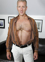 Jack Hartford shows his hairy body