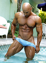 Rico Cane is back to prove in the good Eddie Camacho tradition that bodybuilders can not only be big