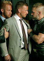 3XMan Sling. Starring Dirk Caber, Logan Rogue and Christopher Daniels