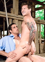Jack King & Vance Crawford fuckiong in a barn