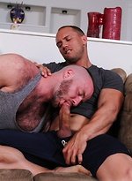 Muscle hairy bears John Magnum & Justin King fuck