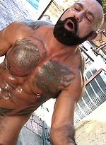 Bo Bangor barebacks Santiago Rodriguez