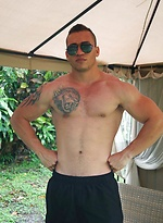 Hot Latino, Anthony Barrera, Stroking Off