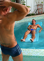 Rod Daily and Logan Drake outdoor sex scene