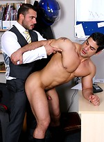 Office buddies feel like drilling gay anal holes