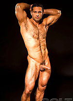 Muscle hairy hunk naked