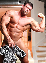A new competitive daddy bodybuilder Damien