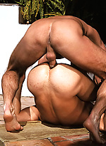 Chase Hunter and Lane Fuller fucking outdoors
