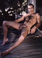 Hairy mature hunk posing naked. Colt vintage pics.