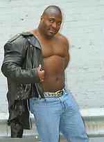 Big ebony man Allen Ray
