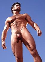 Hot muscle man. Vintage pics.