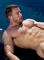 Nate Karlton shows his perfect muscled body