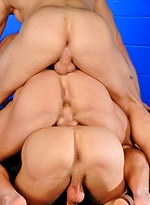 Marcus Mojo, Sebastian Young and Trent Diesel fucking