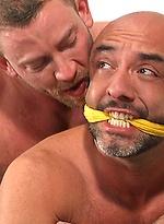 Shay Michaels and Brian Davilla - bondage and facial