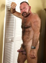 Hairy daddy Ray Andrews