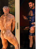 Francois Sagat with Shay Michaels and Spencer Reed Incubus Scene 1