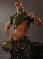 Brave soldier Spencer Reed