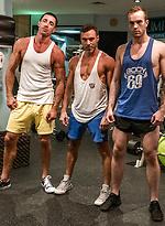Manuel Skye And Nick Capra Double-team Jackson Radiz Bareback