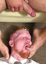Ricky Larkin & Jackson Davis. New Boss Ricky's Feet Worshiped.